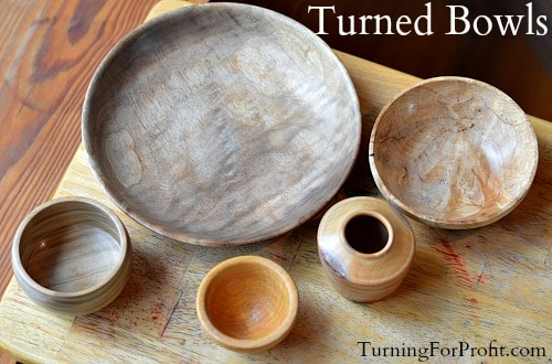Bowls Turning Projects