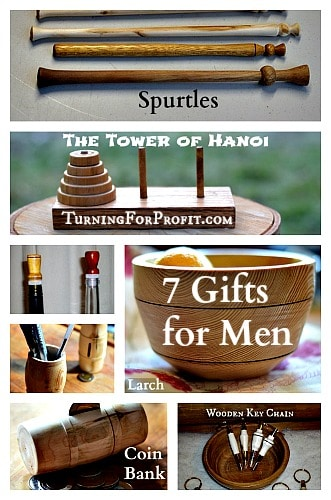 7 Gifts For Men Turned By You On Your Lathe Turning For