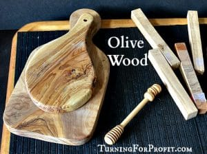 Olive Wood for Your Turning Projects