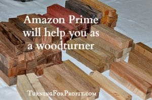 Amazon Prime can help your turning