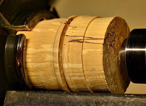 lidded box - the base is mounted and the cap is on the base