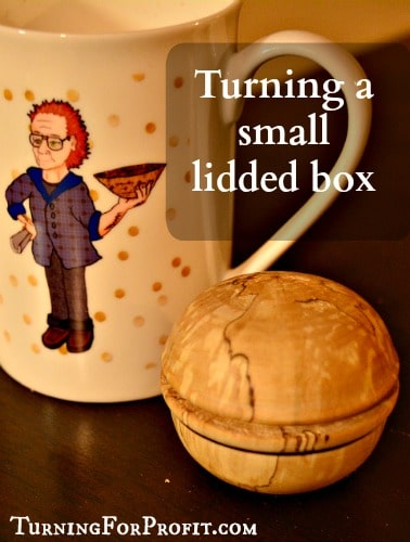 How to turn a lidded box