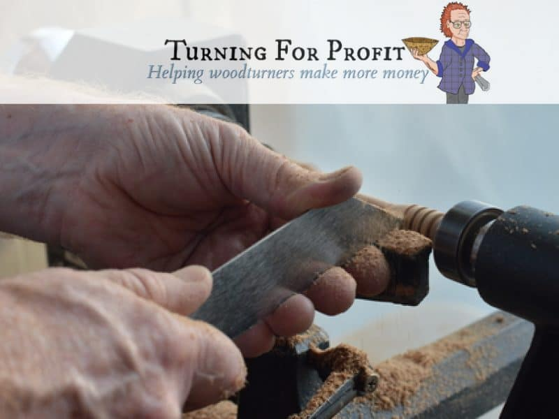 hands working a honey dipper on a lathe