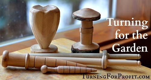 5 Wood Turning Projects for the Garden