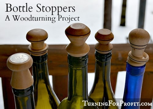 How to top a good wine – make a bottle stopper – A woodturning project