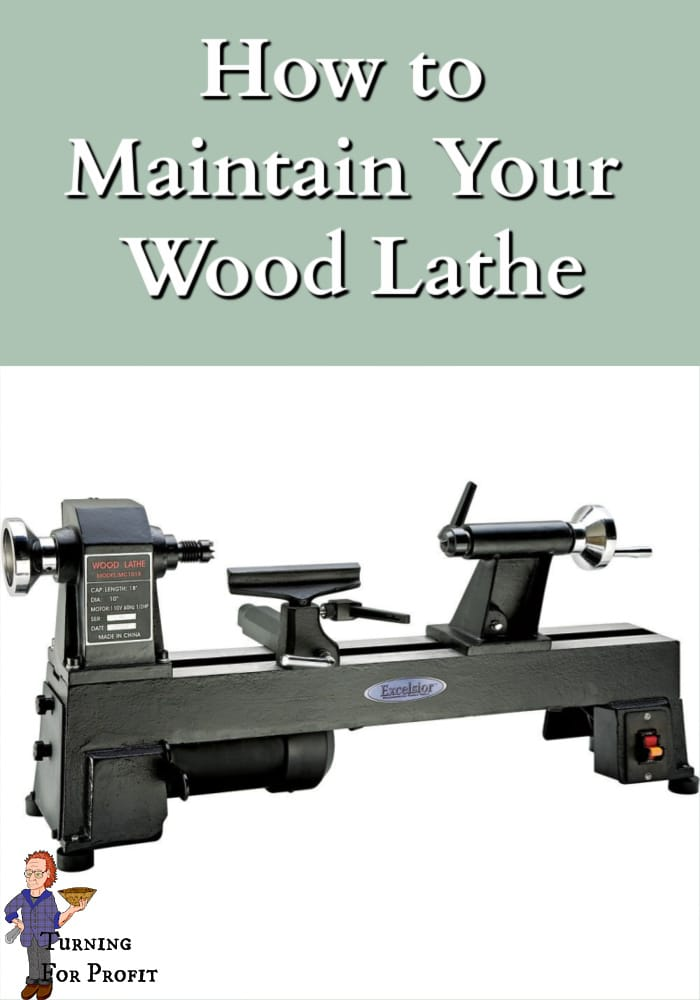 picture of a mini wood lathe