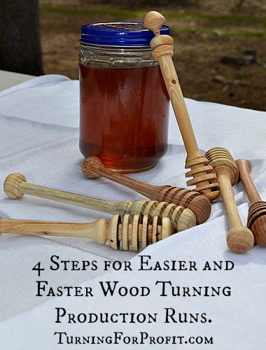 4 Steps for Easier and Faster Wood Turning
