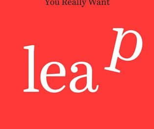 "Book cover ""Leap"" by Tess Vigeland"