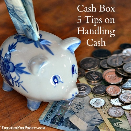 Cash Box 5 tips on handling your money at shows