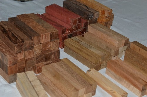 Inventory Pen Blanks ready to be turned
