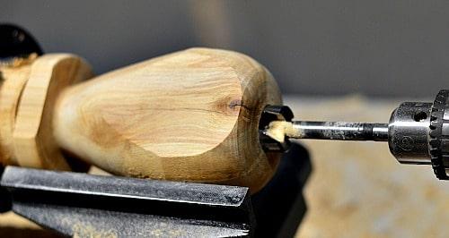 heart vase initial drilling
