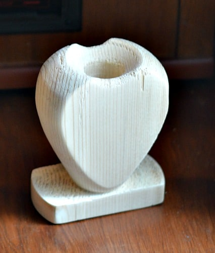 heart vase sample run
