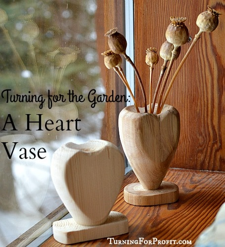 Mothers Day Gifts - Heart Shaped Vase