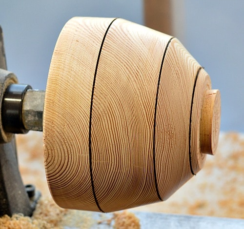Wooden Bowl - Larch outer shape