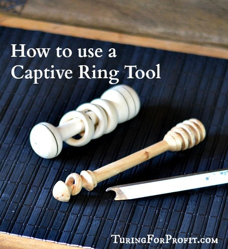 Captive Ring Tool Pin