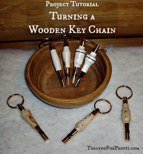 Gifts for Men - Wooden Key Chain