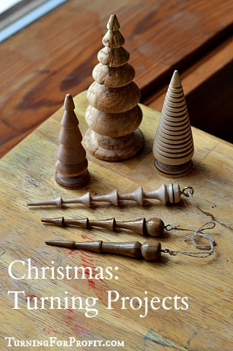 Christmas Woodturning Decorations