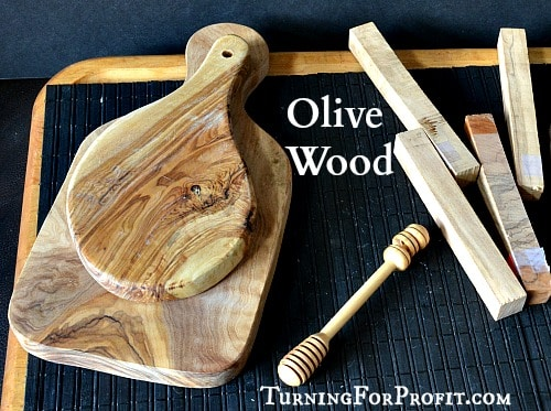 Olive Wood, honey dipper, pen blanks, and olive platters