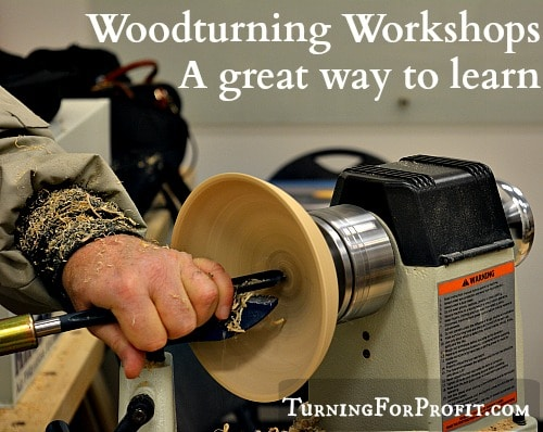Woodturning Workshops  I – A great way to learn
