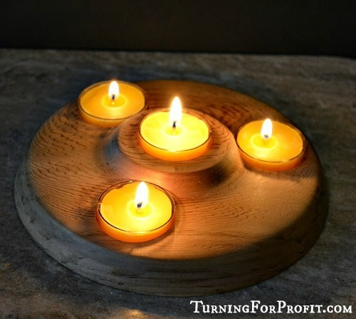 Photographs multiple tea light holder
