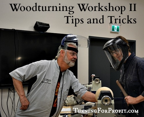 Woodturning workshop - title
