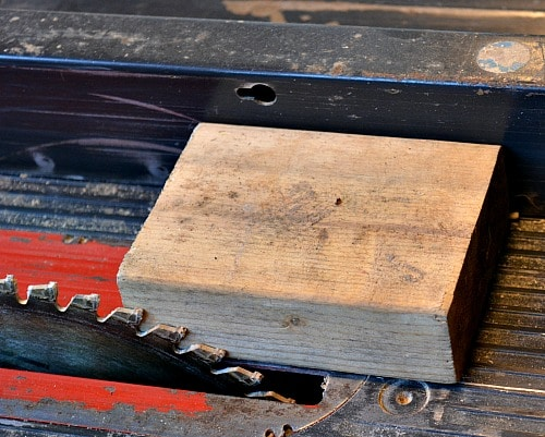 Turning Blanks: Setting the rip fence for a square blank