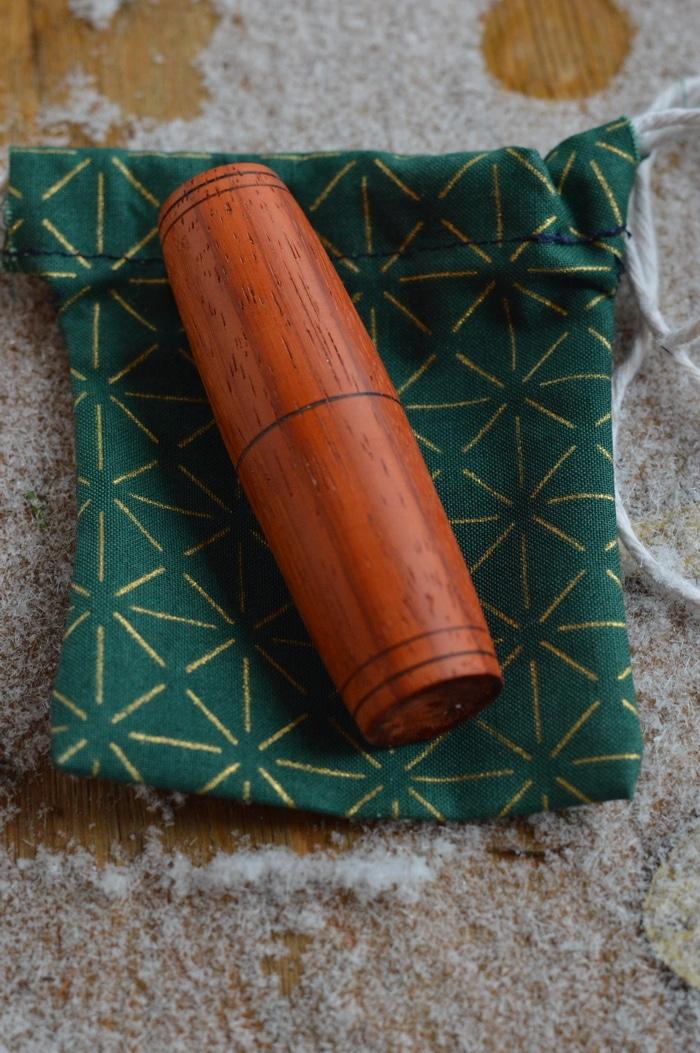 Fidget Stick made from Padauk